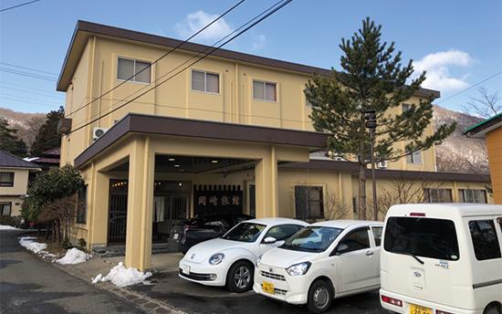 岡崎旅館の別館入り口